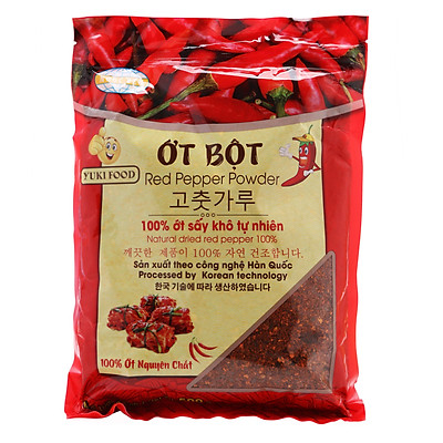 Ớt Bột Mịn Yuki Food (500g)