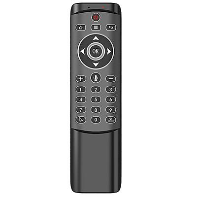 Điều Khiển Từ Xa Bằng Giọng Nói Không Dây 2.4g Với Chuột IR Learning Backlit Cho TV Thông Minh AnDroid TV Box Máy Chiếu