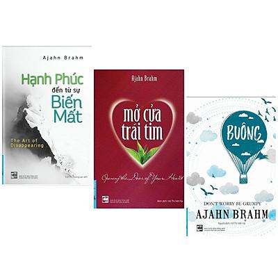 Combo 3 Cuốn Sách Kỹ Năng Sống: Buông Bỏ Buồn Buông (Tái Bản 2019) + Hạnh Phúc Đến Từ Sự Biến Mất + Mở Cửa Trái Tim (Tái Bản 2017) - (Những Cuốn Sách Sẽ Giúp Tâm Hồn Bạn Trở Nên Nhẹ Nhàng Hơn)