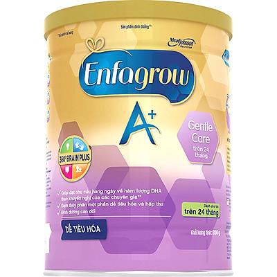 Sữa Bột Enfagrow A+ Gentle Care Cho Trẻ Trên 24 Tháng (800g)