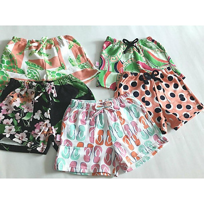 quần đùi bé gái ( set 5 cái)- quần short đùi bé gái