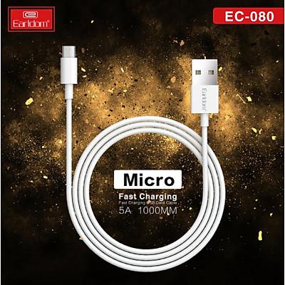 Dây sạc Micro Usb, công nghệ sạc nhanh 5A, đồng nguyên chất cho Samsung, Oppo - Hàng Chính Hãng