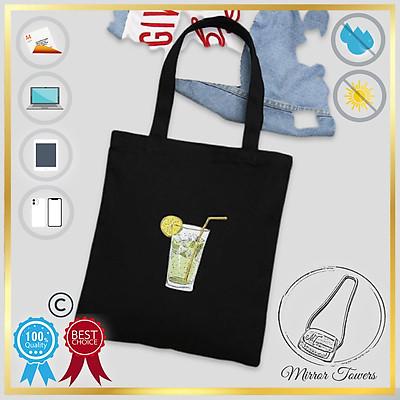 Túi xách vải bố, mỏng, nhẹ nhàng, xinh xắn, đựng được giấy A4, thiết kế đơn giản, thời trang (Nhiều mẫu để chọn)