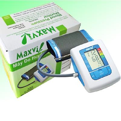 Máy đo huyết áp bắp tay kỹ thuật số Tiếng Việt MAXVI - Đọc chỉ số và phân độ huyết áp theo WHO
