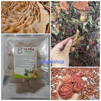 Lá xông sản phụ Nguyễn Nguyên, lá tắm sau sinh dạng túi lọc, thảo dược xông hơi thải độc (10 lần xông)