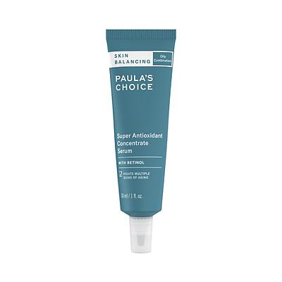 Tinh chất serum cân bằng độ ẩm và siêu chống lão hóa chứa Retinol Paula's Choice Skin Balancing Super Antioxidant Concentrate Serum With Retinol 30ml Mã: 3350