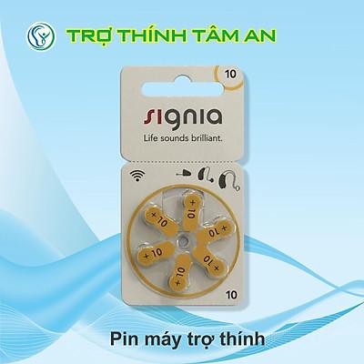 Pin 10 - Pin trợ thính Signia, hàng chính hãng, dùng cho máy trợ thính trong tai CIC 10
