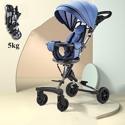 Xe đẩy em bé 4 bánh 2 chiều ngả lưng 3 tư thế