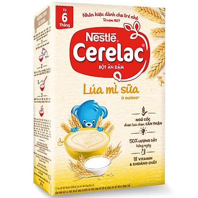 Bột Ăn Dặm Nestlé Cerelac - Lúa Mì Và Sữa (200g)