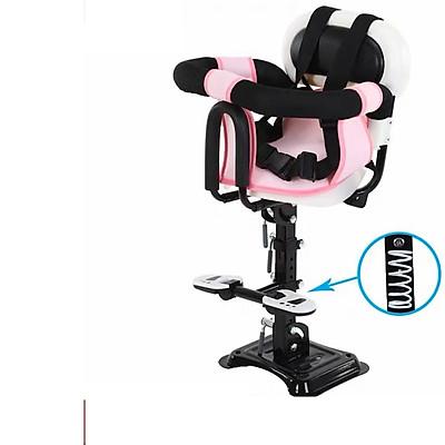 Ghế ngồi cho bé dành cho xe máy ga / ghế ngồi xe máy xe điện, xe đạp điện có chỗ để chân rộng 25 cm