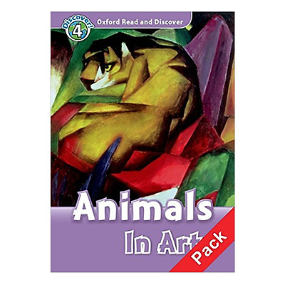 Oxford Read and Discover 4: Animals In Art Audio CD Pack