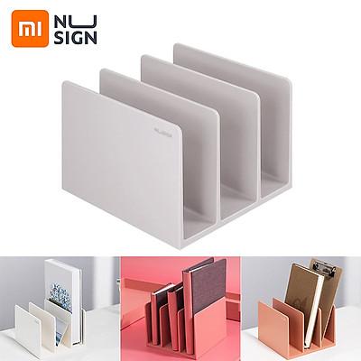 Giá sách chia ngăn thông minh Xiaomi Youpin NUSIGN ABS thiết kế 3 ngăn thông minh