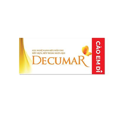 Gel Hỗ Trợ Trị Mụn Decumar 20g (phiên bản Cào Em Đi)