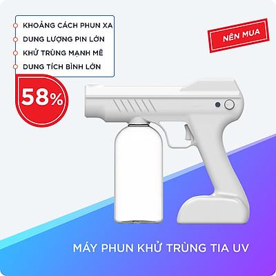 Máy Phun Khử Trùng Bằng Tia UV Tiêu Diệt Vi Khuẩn Bảo Vệ Sức Khỏe Gia Đình Với Dung Tích Bình Chứa 800ml