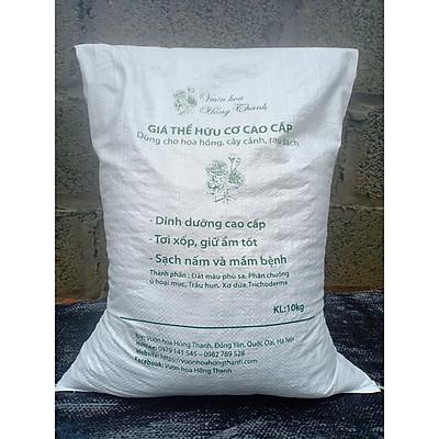 Đất trồng cây cao cấp, Giá thể hữu cơ cao cấp dùng cho Hoa Hồng, Cây Cảnh  (Bao 10kg)