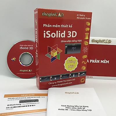 Phần mềm thiết kế iSolid 3D phiên bản tiêu chuẩn – Giao diện tiếng Việt - Hàng chính hãng