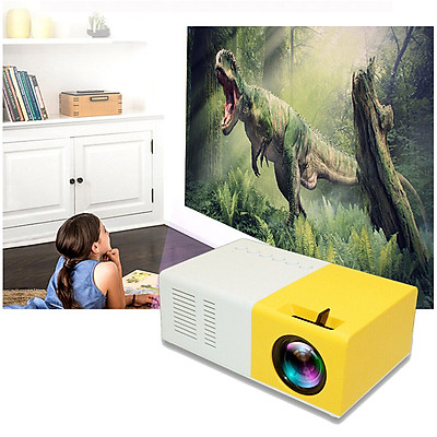 Máy Chiếu Mini LCD LED Projector PD300 Cao Cấp AZONE