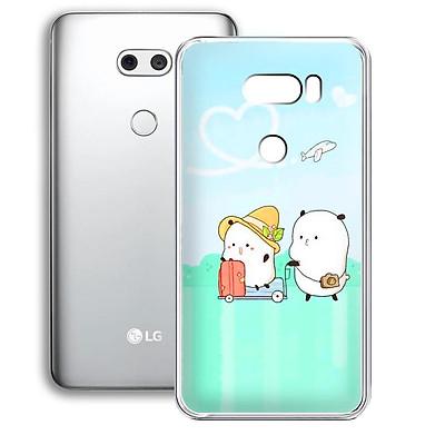 Ốp lưng dẻo cho điện thoại LG V30 - 01253 7880 LOVELY08 - Hàng Chính Hãng