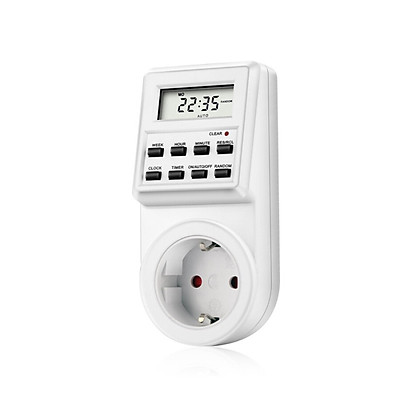 TM03 Digital Timer Plug-in Style Large LCD Display Smart Control Socket  Automatically switch Up to 10 different on/off settings