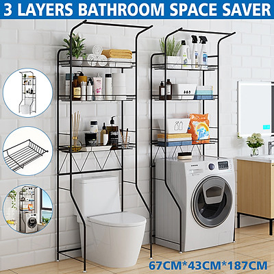 3 Layers Bathroom Space Saver Over The, Bathroom Space Saver Over Toilet