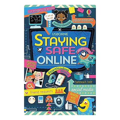 Sách tiếng Anh - Usborne Staying safe Online