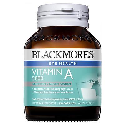 Thực phẩm chức năng Blackmores  bổ sung Vitamin A 150 viên
