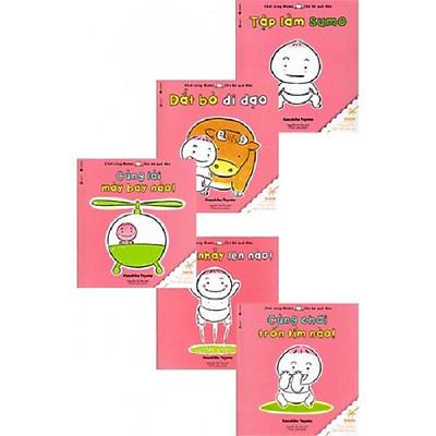 Combo Chơi Cùng Momo - Chú Bé Quả Đào (Phần 2 - Bộ 5Q)