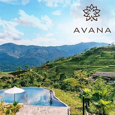 Gói 3N2Đ Avana Retreat Resort 5* Hòa Bình - 02 Bữa Sáng, 01 Bữa Tối, Ăn Nhẹ Buổi Chiều, Bể Bơi Nước Nóng, Không Gian Tuyệt Đẹp Giữa Núi Rừng Mai Châu