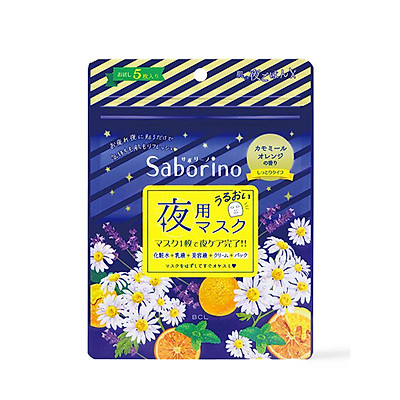 Mặt Nạ Buổi Tối Saborino Good Night Sheet Mask 5 Miếng
