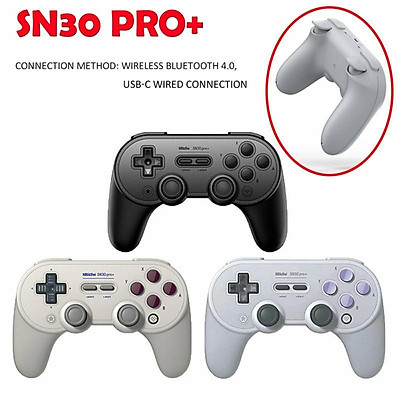SN30 PRO+ Bluetooth Gamepad Controller with Joystick for Mac OS Switch Windows Android