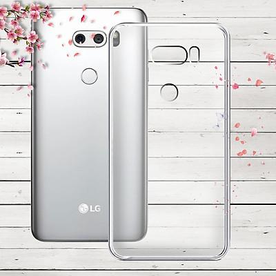Ốp lưng cho LG V30 - 01253 - Ốp dẻo trong - Hàng Chính Hãng
