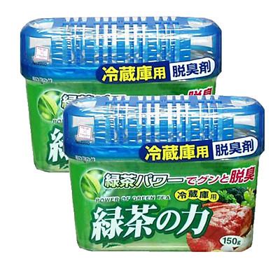 Combo Hộp Khử Mùi Tủ Lạnh Hương Trà Xanh Nhật Bản (150g)