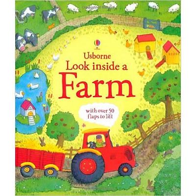 Sách tương tác tiếng Anh - Usborne Look inside a Farm