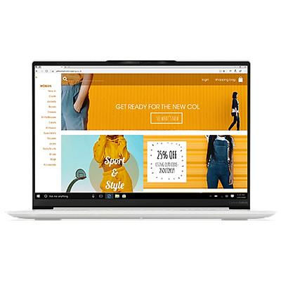 Laptop Lenovo Yoga Slim 7 Carbon 13ITL5 82EV0017VN (Core i7-1165G7/ 16GB LPDDR4x 4266MHz/ 1TB M.2 PCIe NVMe/ 13.3 QHD IPS/ Win10) - Hàng Chính Hãng