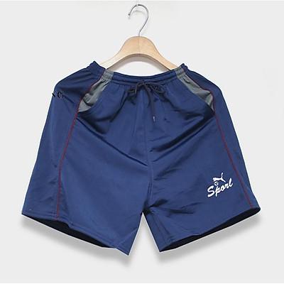 Combo 2 quần đùi nam mặc ngủ vải thun mịn thoải mái loại 1 quần sọc free size dưới 65kg