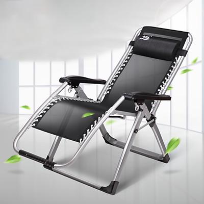 Ghế gấp ghế xếp ghế ngủ văn phòng gấp gọn tiện dụng ngủ trưa ngả lưng thành giường gấp lên thành ghế tiện dụng - Hàng chính hãng