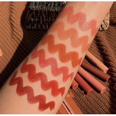 Set 6 cây son thỏi dream Refreshing matte color-HengFang
