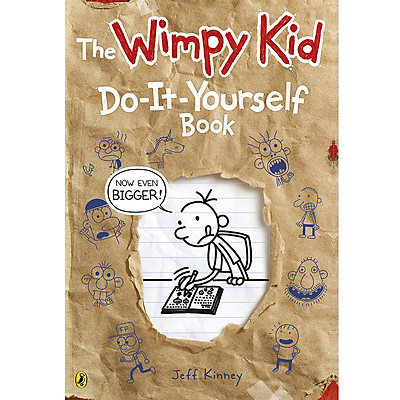 Truyện thiếu nhi tiếng Anh - Diary of a Wimpy Kid: Do-It-Yourself Book