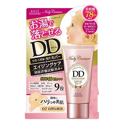 Kem Dưỡng Và Trang Điểm Đa Năng Kosé Cosmeport Nudy Couture Mineral DD Cream (#02)