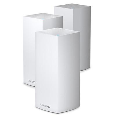 Bộ Phát Wifi LINKSYS VELOP MX12600-AH (3 pack) TRI-BAND AX4200 INTELLIGENT MESH WIFI SYSTEM WIFI 6 MU-MIMO SYSTEM - Hàng Chính Hãng