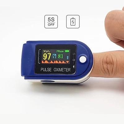 Máy đo nhịp tim và nồng độ oxy trong máu YB01 (đo nhanh chính xác, giao hàng toàn quốc)