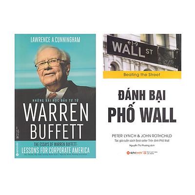 Combo Sách : Đánh Bại Phố Wall + Những Bài Học Đầu Tư Từ Warren Buffett