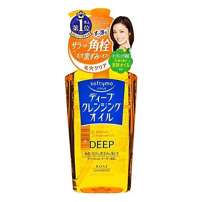 Dầu Tẩy Trang Làm Sạch Sâu Kosé Cosmeport Softymo Deep Cleansing Oil (230ml)