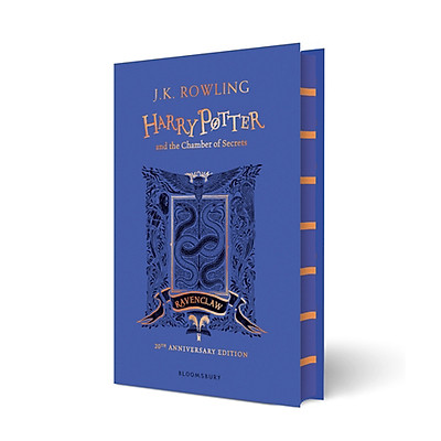 Harry Potter Part 2: Harry Potter And The Chamber Of Secrets (Hardback) Ravenclaw Edition (Harry Potter và Phòng chứa bí mật) (English Book)