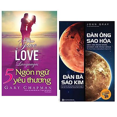 Combo sách tình yêu: 5 Ngôn Ngữ Yêu Thương - The Five Love Languages + Đàn Ông Sao Hỏa Đàn Bà Sao Kim