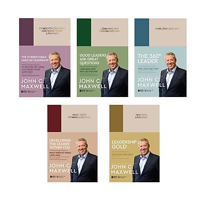 Combo Phong Cách Lãnh Đạo Jonh C.Maxwell: Nhà Lãnh Đạo 360° + Tinh Hoa Lãnh Đạo + Phát Triển Kỹ Năng Lãnh Đạo + Lãnh Đạo Giỏi Hỏi Câu Hay + 21 Nguyên Tắc Vàng Của Nghệ Thuật Lãnh Đạo