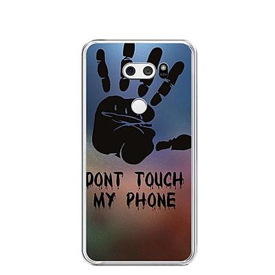 Ốp lưng dẻo cho điện thoại LG V30 - 0292 DONTTOUCHMYPHONE - Hàng Chính Hãng
