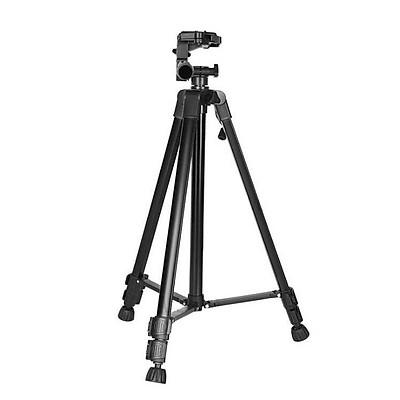 Combo Chân máy ảnh quay phim DSRL Tripod 3366 + Đầu kẹp điện thoại Selfie - Giao màu ngẫu nhiên