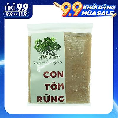 [Chỉ Giao HCM] - Riêu Tôm Xay Nhuyễn (Nguyên Con) Con Tôm Rừng Túi 150Gr - Foodmap