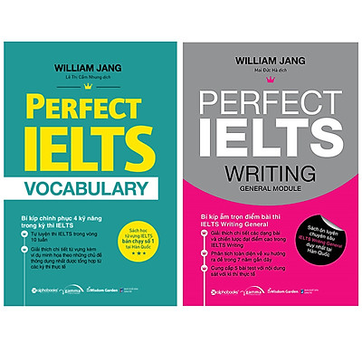 Combo Sách Học IELTS : Perfect Ielts Vocabulary + Perfect IELTS Writing General Module